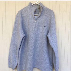 Vintage Gray 90's Fleece Nike Sweatshirt